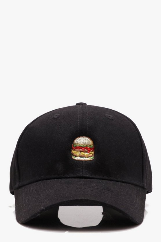 Burger Cartoon Cap