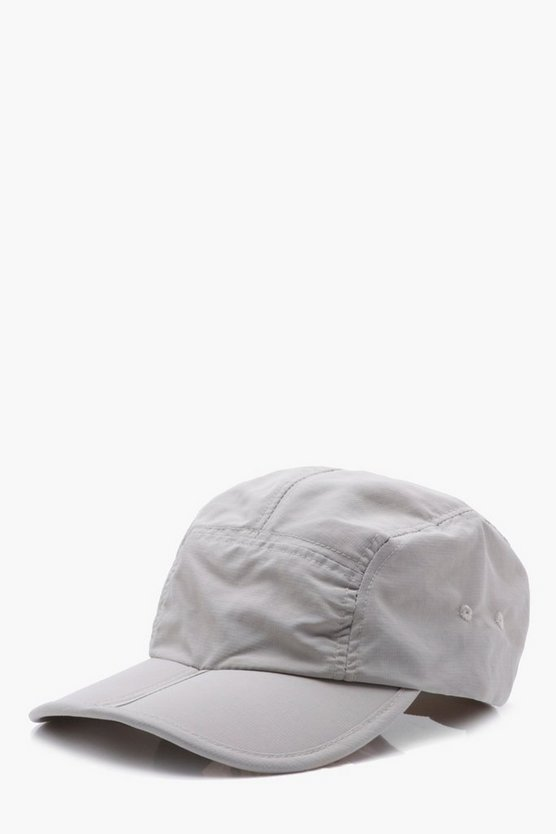 Nylon Folding Peak Cap