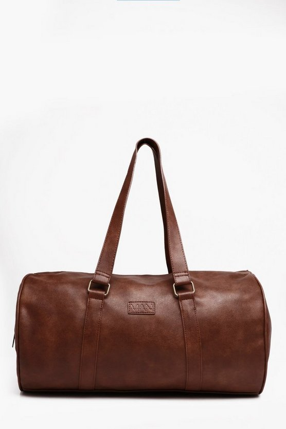 Soft PU Barrel Holdall