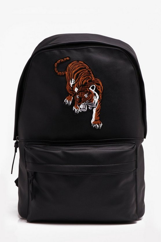 Tiger Applique Rucksack