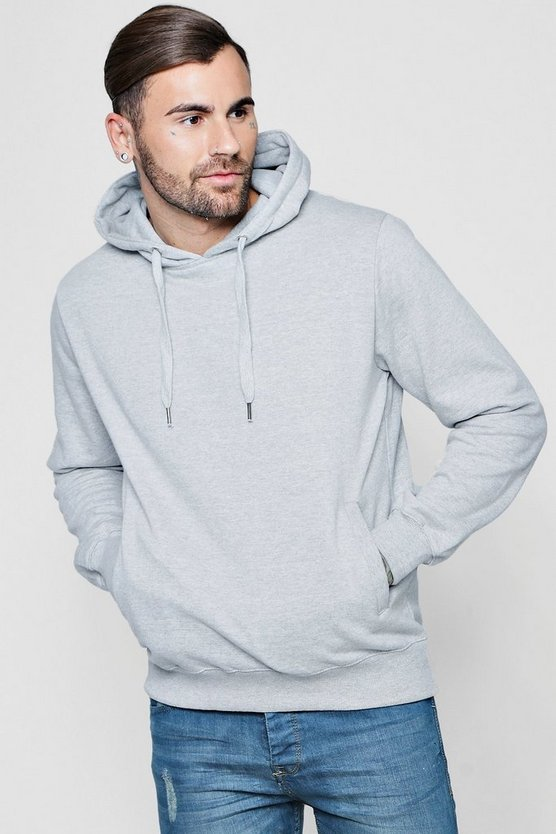 Over The Head Hoodie With Side Pockets