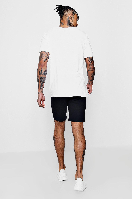 "con Pantalones de largo medio ""MAN paneles 7gqngtWr"