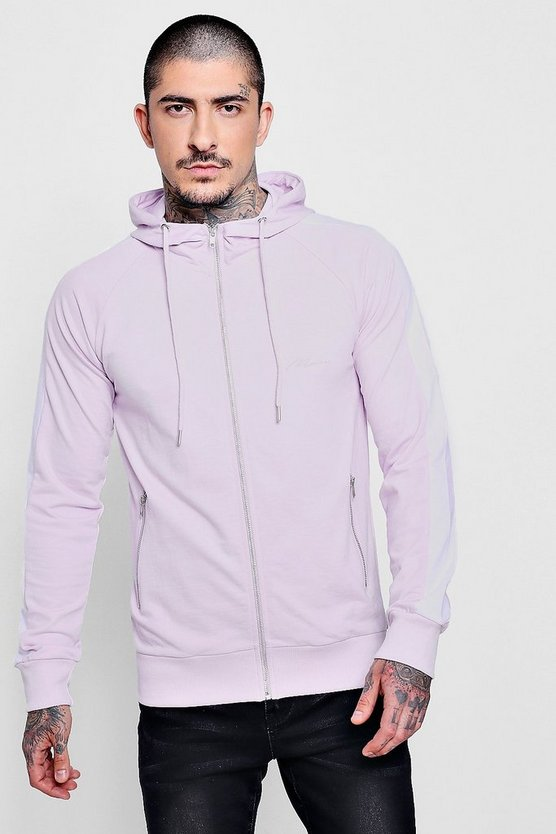 MAN Signature Muscle Fit Hoodie