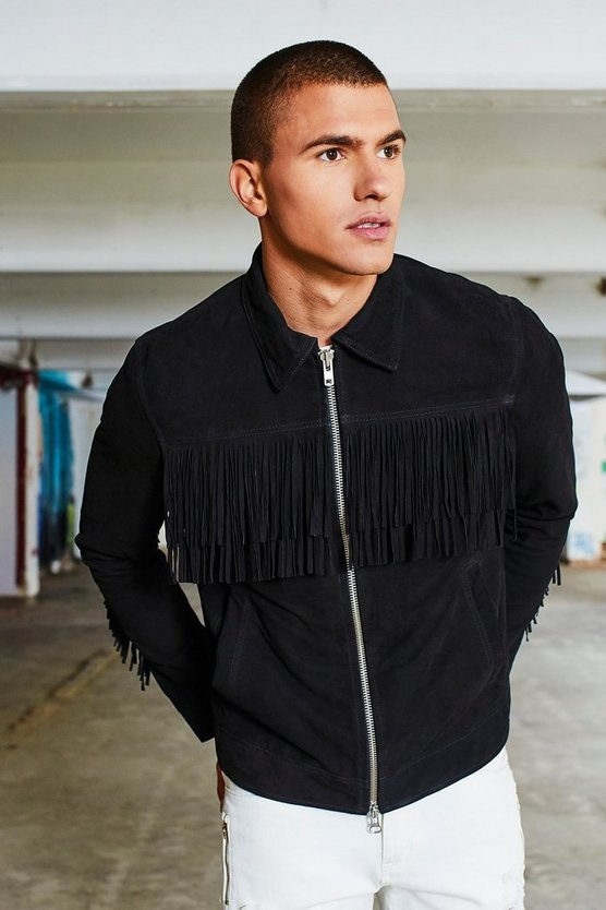 Real Suede Tassel Harrington