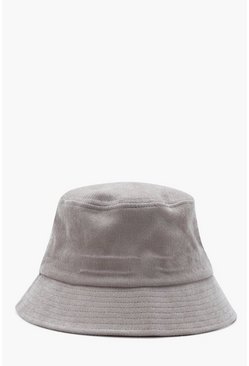 Mens Stone Cord Bucket Hat