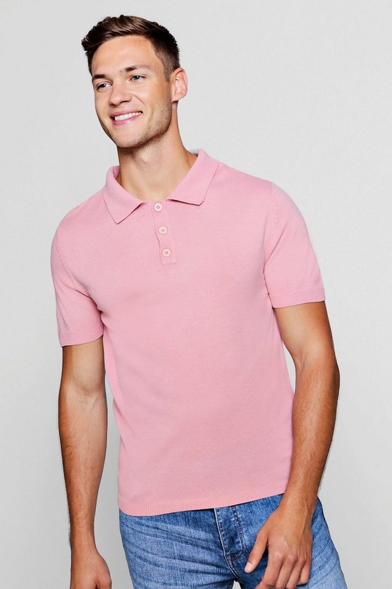 Soft Touch Knitted Polo