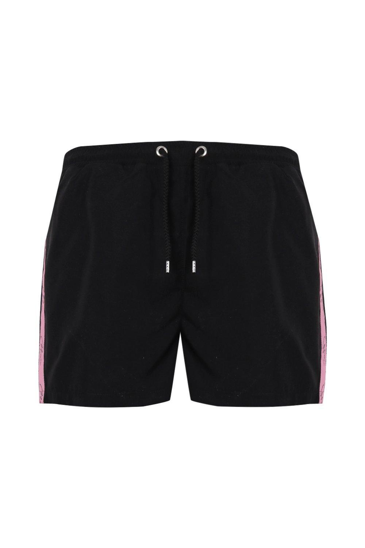 MAN Signature Mid black Shorts Length Swim w6R4zUwq