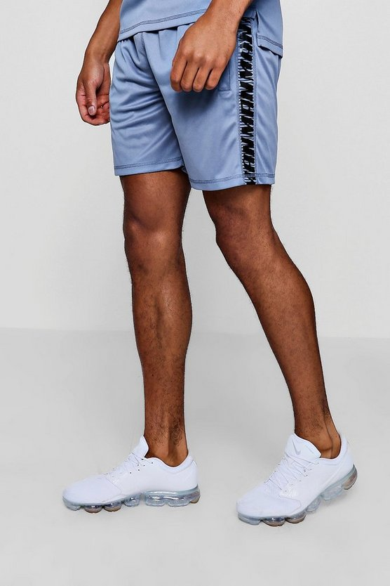 Active Gym Runner Short With Side Panel