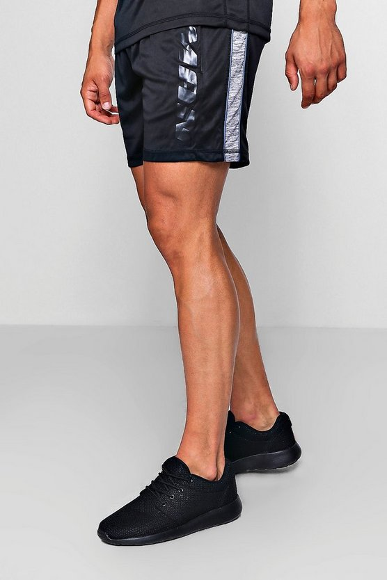 Active Gym Panelled Runner Short