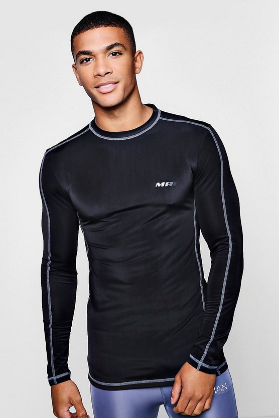 Active Gym Compression Long Sleeve Top
