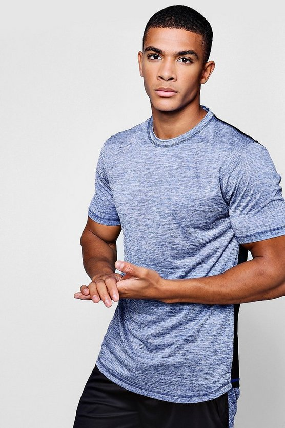 Active Gym Slub Half/Half T-Shirt