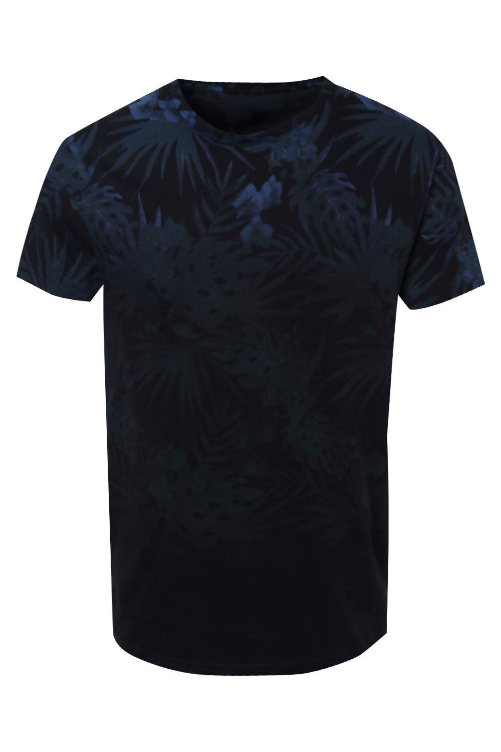 Boohoo-Mens-Faded-Palm-Sublimation-Print-T-Shirt