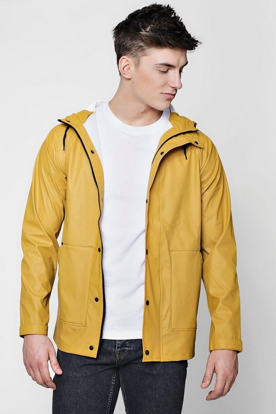 Water Resistant Hooded Jacket