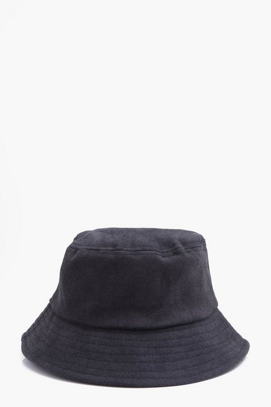 Faux Suede Bucket Hat