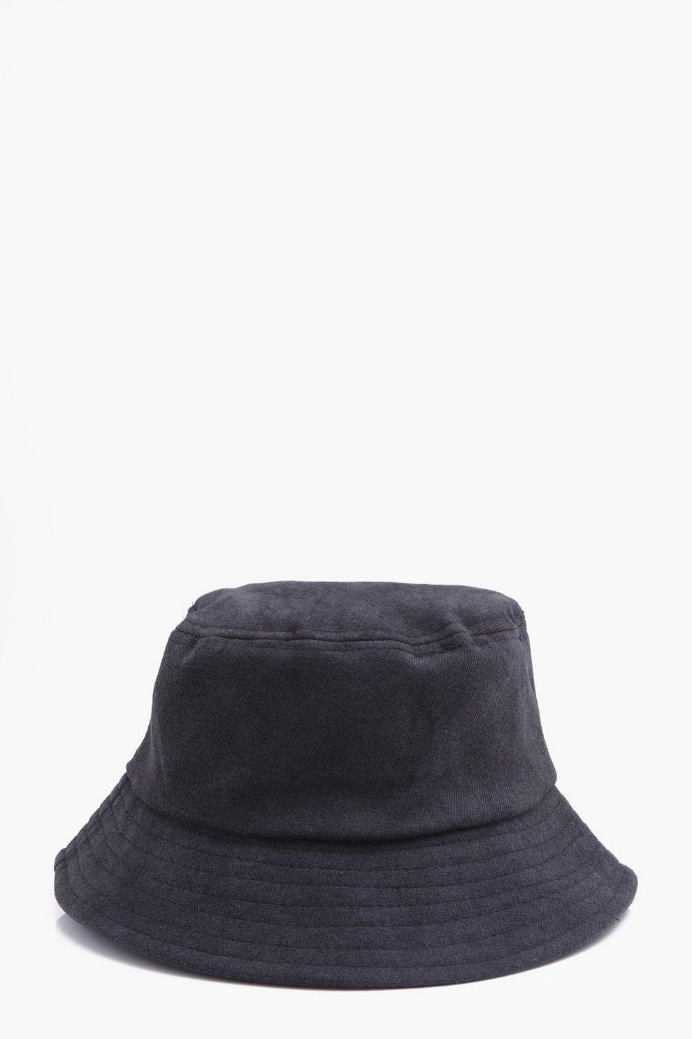 10ba2125 Faux Suede Bucket Hat | Boohoo
