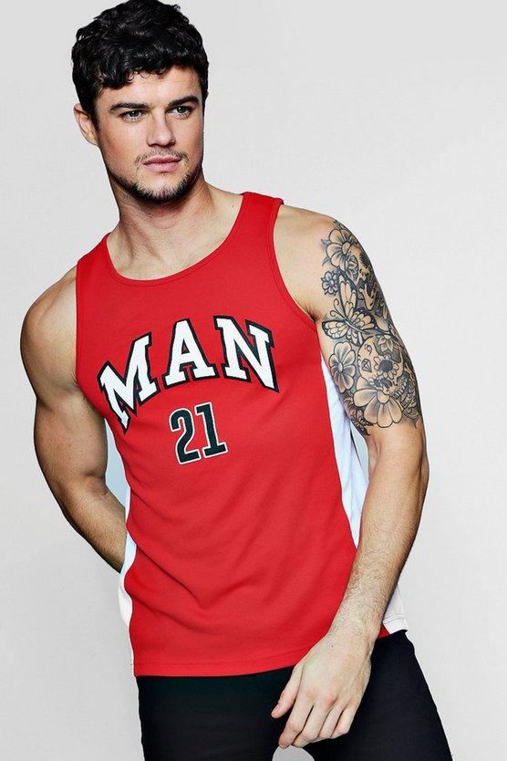 MAN Basketball Vest