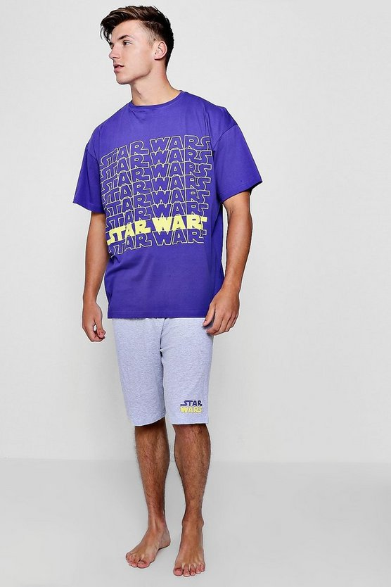 Star Wars Oversized T-Shirt And Short Lounge Set