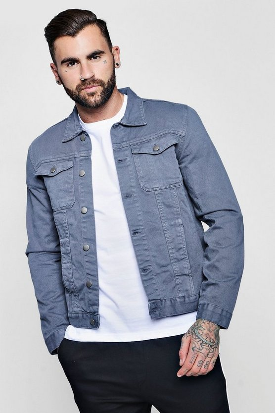 Denim Twill Western Jacket