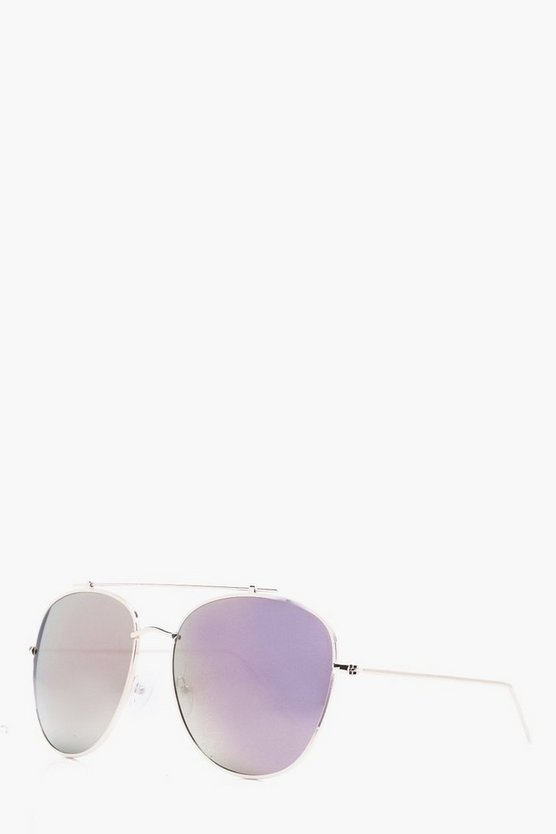 Gold Mirrored Lens Aviator