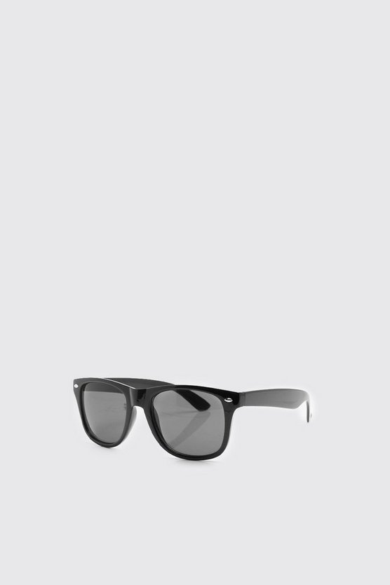Mens Black Classic Black Sunglasses