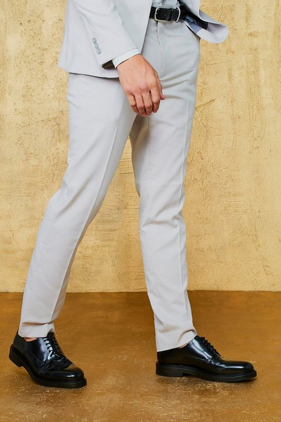 Plain Skinny Fit Suit Trouser