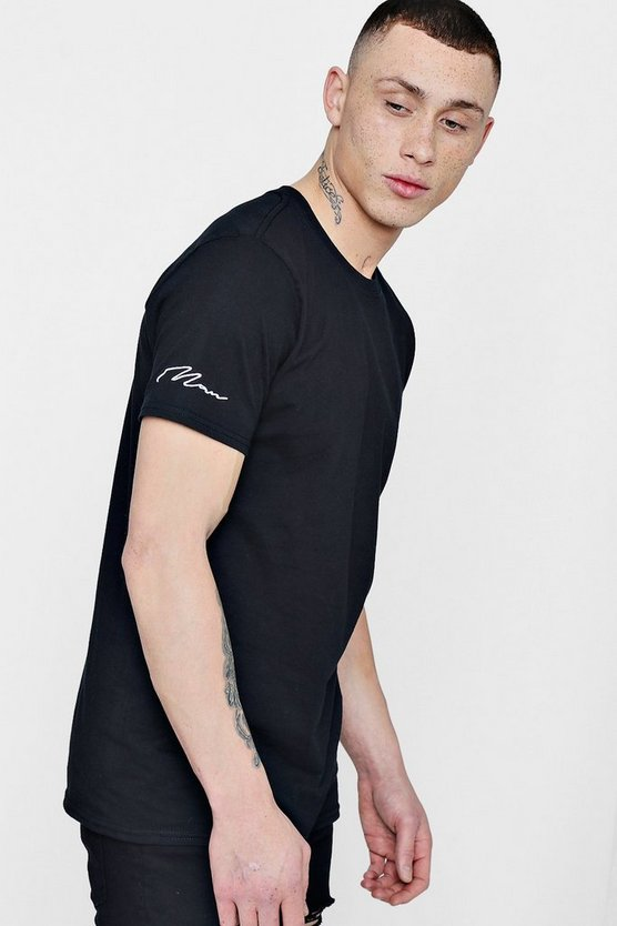 MAN Signature Sleeve T-Shirt