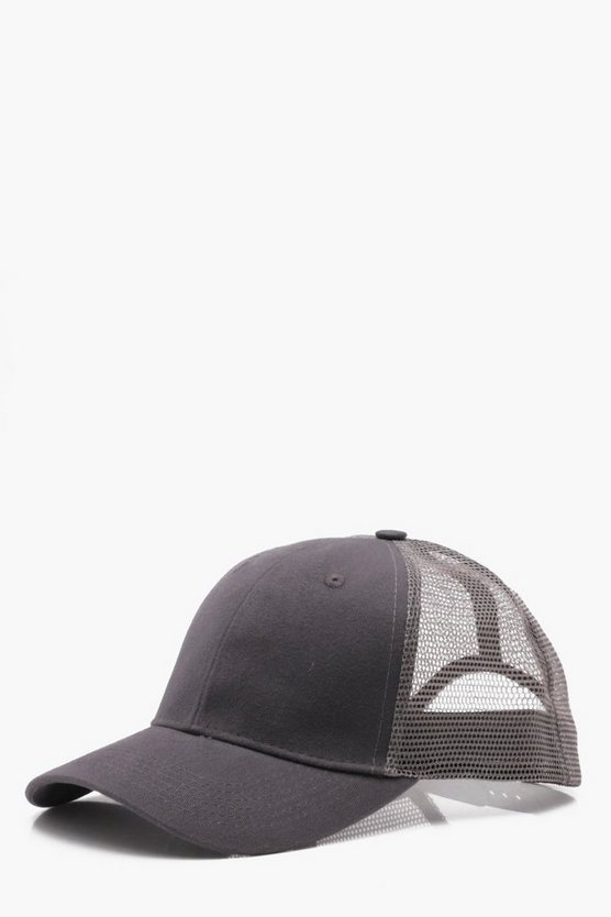 6 Panel Cotton Front Trucker Cap