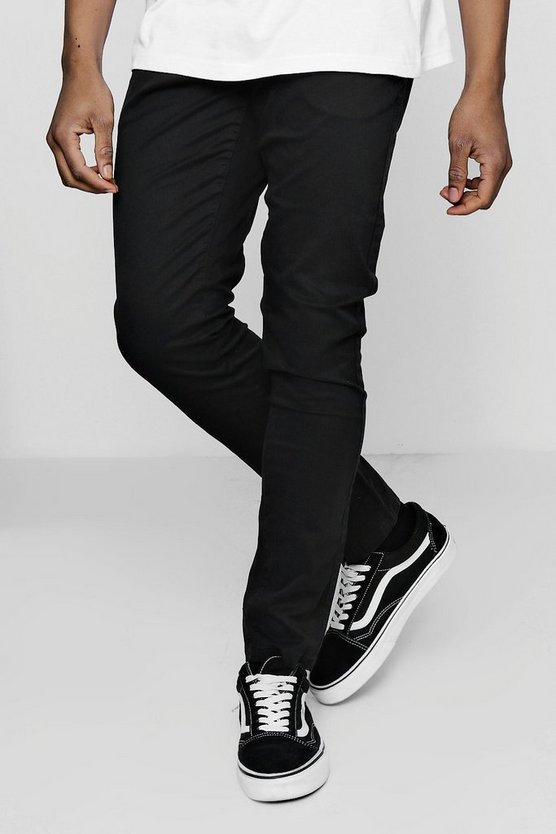 Slim Fit Chino Trousers With Stretch