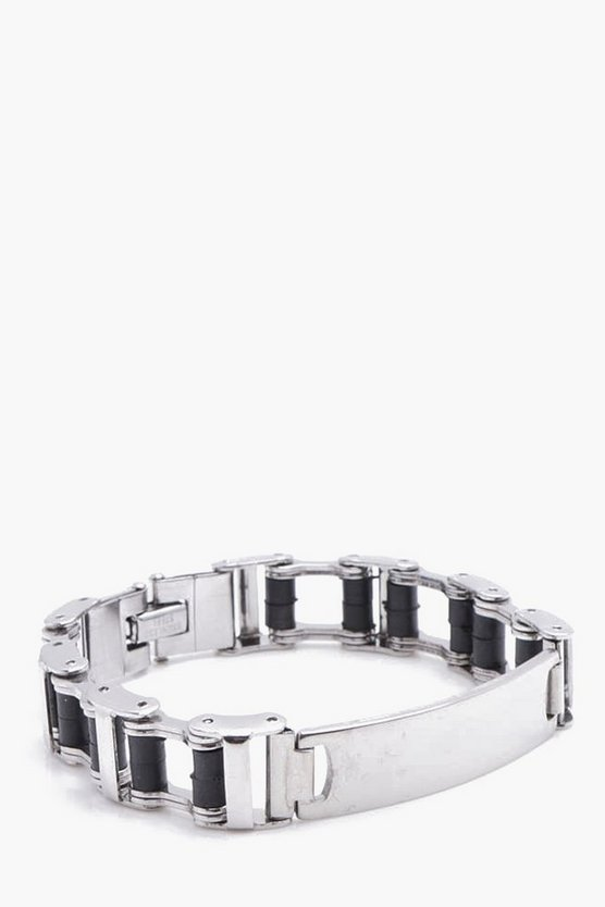 Box Chain ID Bracelet