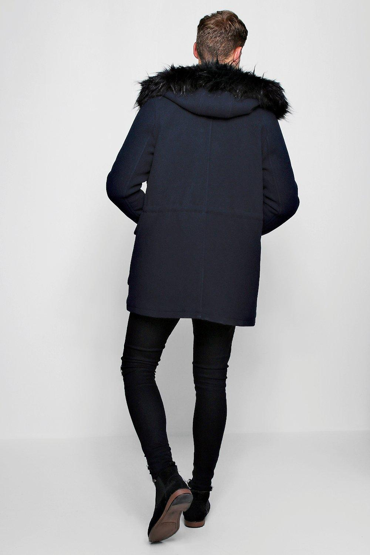 Boohoo-Mens-Wool-Blend-Parka-With-Faux-Fur-Trim-Hood