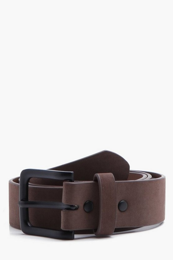 Classic Belt With Matte Finish