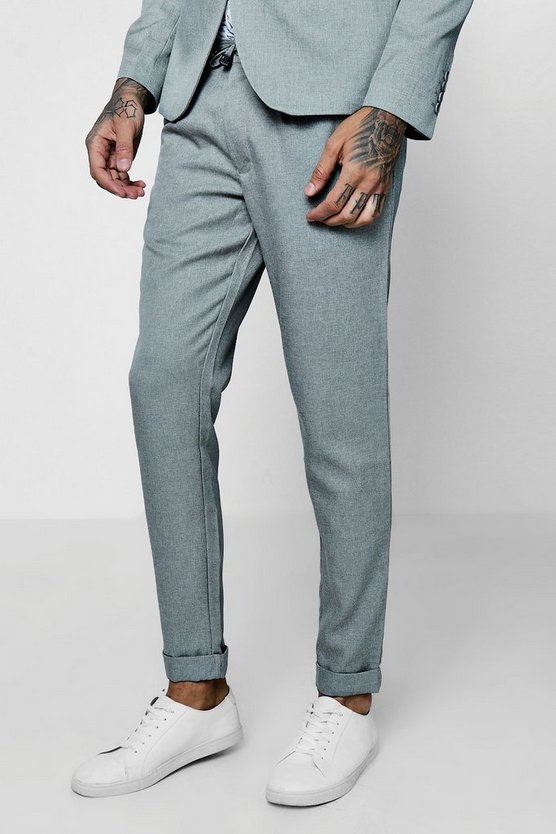 Slim Fit Smart Jogger Trousers