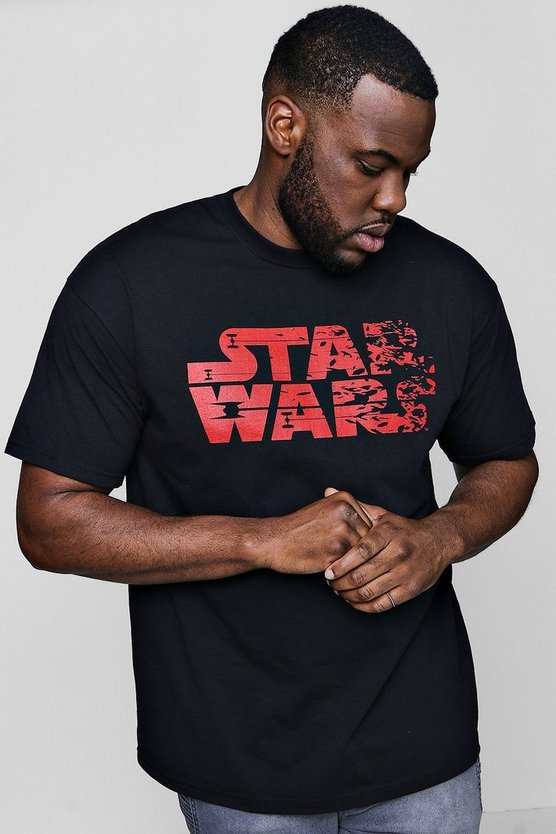 Big And Tall Star Wars License T-Shirt