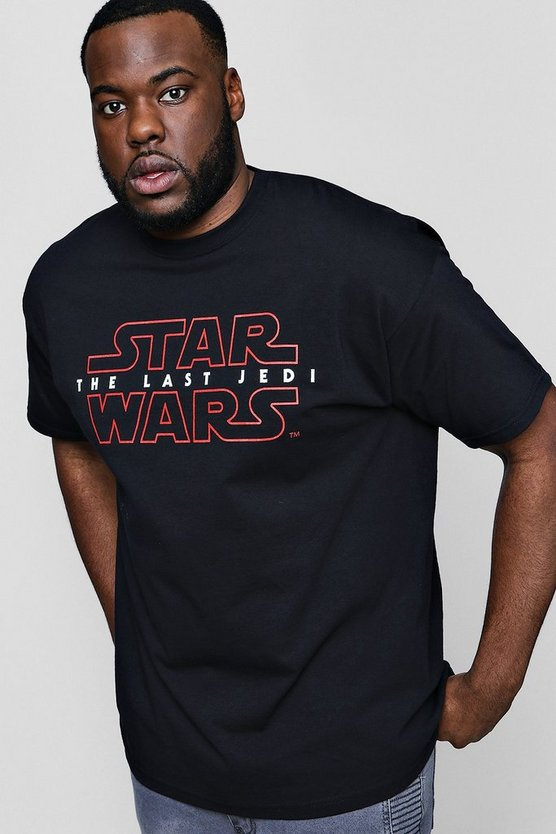 T-shirt officiel Le dernier Jedi Big And Tall