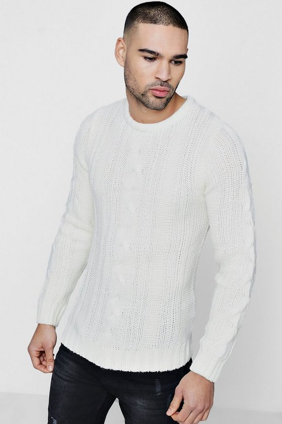 Crew Neck Knit Jumper
