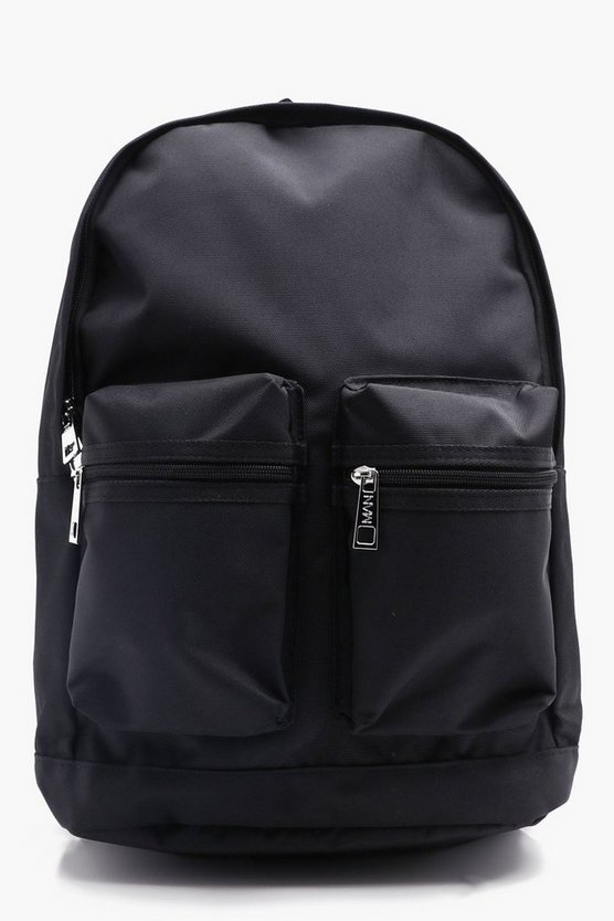 Twin Pocket Canvas Rucksack