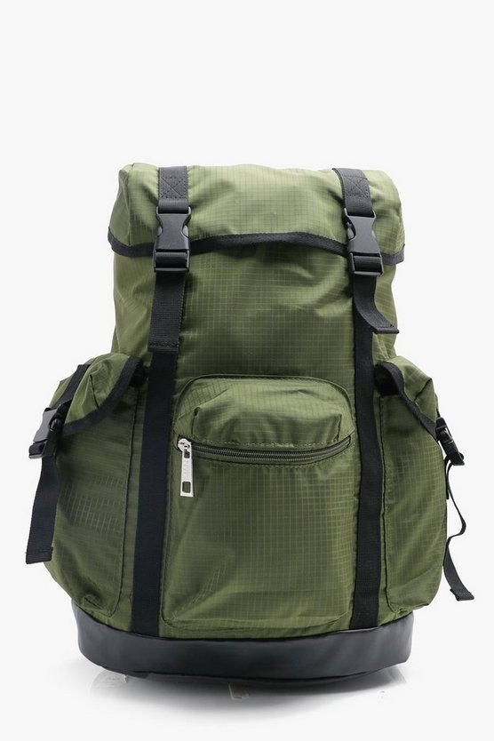Multi Pocket Utility Rucksack