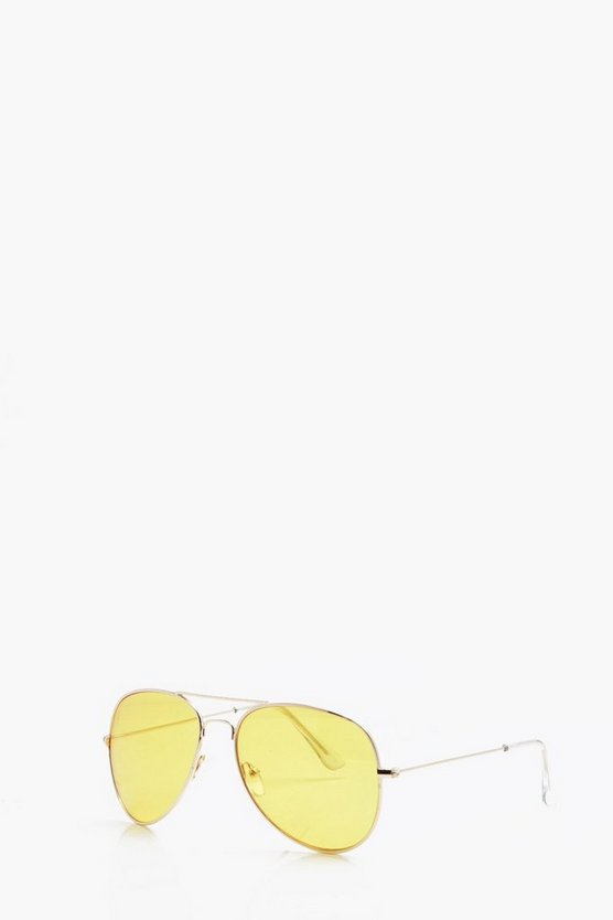 Yellow Lens Aviator