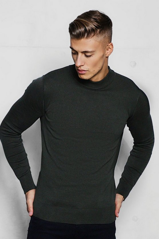 Fine Knit Turtle Neck Jumper