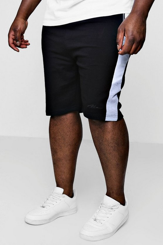 Short Slim Fit empiècements Big And Tall