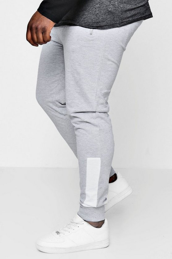 Big And Tall Skinny Fit Panelled MAN Jogger