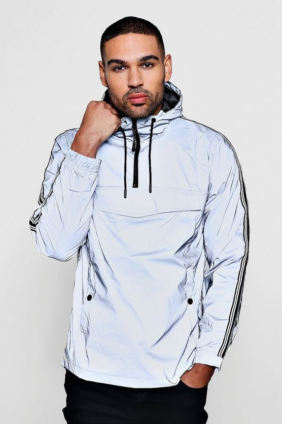 Reflective Cagoule With Sports Tipping