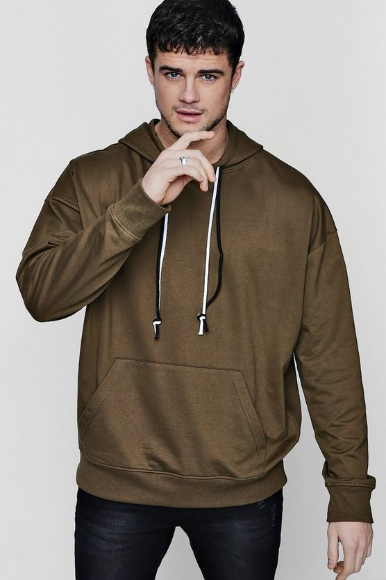 Oversized Double Drawcord Hoodie
