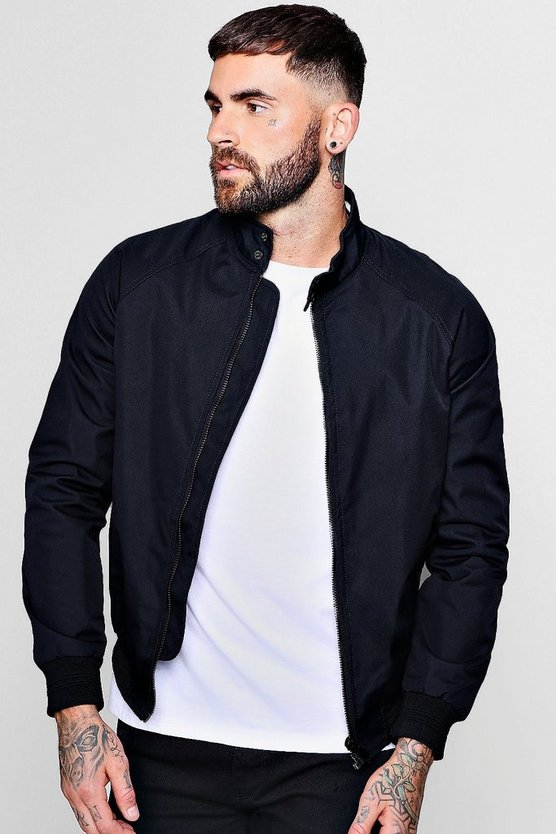 Veste Harrington Raglan Sports extrémités