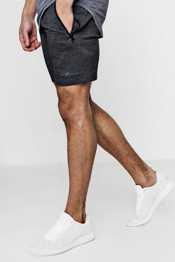 MAN Signature Skinny Fit Shorts