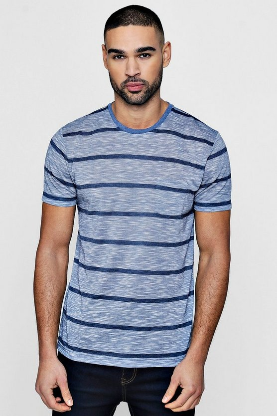 Stripe T-Shirt With Pocket