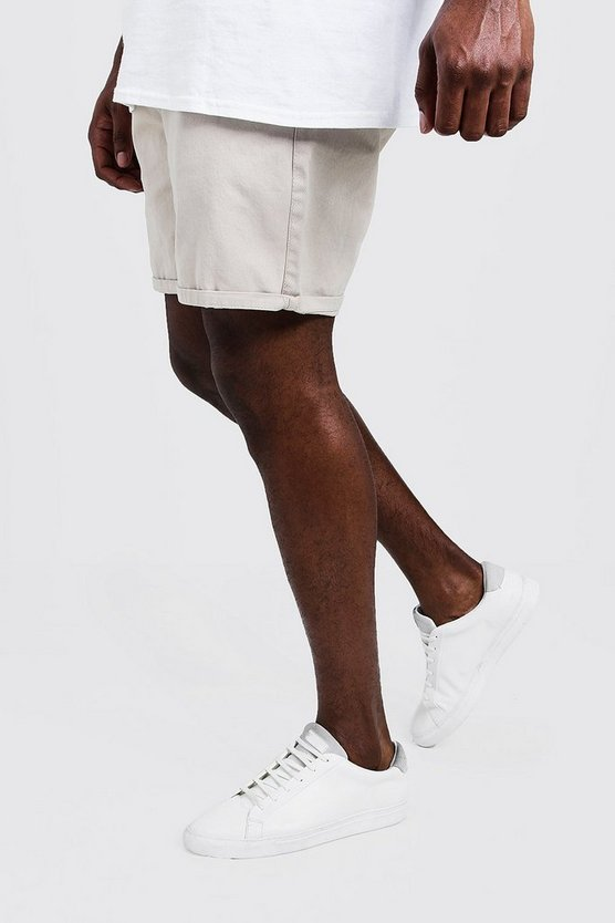 Stone Big And Tall Slim Fit Chino Shorts