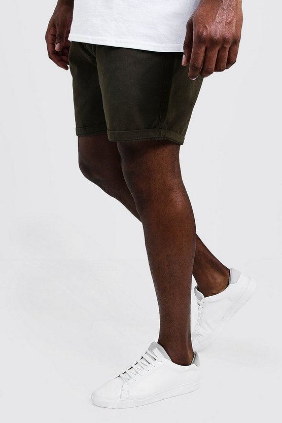 Big And Tall Slim Fit Chino Shorts