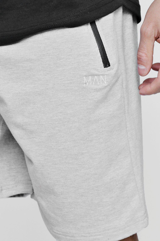 de gris activo Pantalones cortos hombre Oqwx676