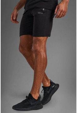 Herr Black Active Gym Shorts